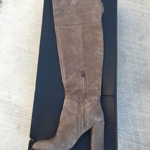670095ccb04 Kenneth Cole New York Shoes - FINAL🔥Kenneth Cole Jack Taupe Over The Knee  Boots